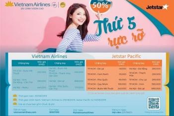 """Lại """"đã tay"""" săn vé rẻ từ khuyến mại """"Thứ 5 rực rỡ"""" của Vietnam Airlines"""